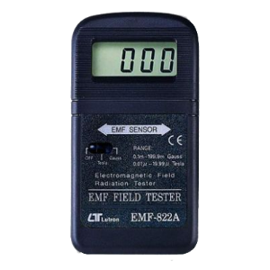 Digitale EMF Meter Dutch ghost hunt team