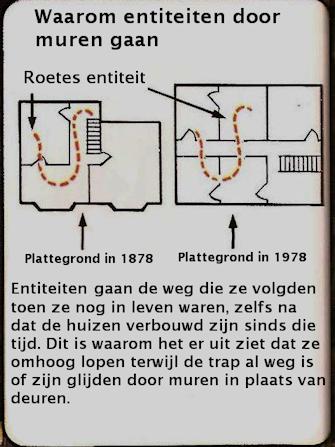 Plattegrond Risidual Dutch ghost hunt team